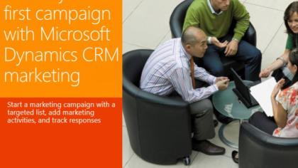 Create Your First Campaign with CRM Marketing